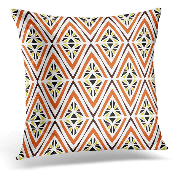 Aboriginal Tribal Pattern Ethnic Africa Throw Pillow Cover
