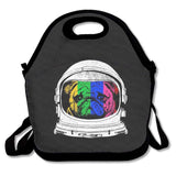 Accessories Astronaut Rainbow Pug Lunch Bags