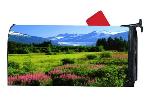Alaska From A Distance Decorative Mailbox Covers