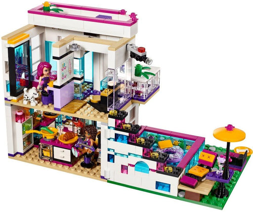619PCS FRIENDS SERIES LIVI'S POP STAR BUILDING BLOCK TOY HOUSE