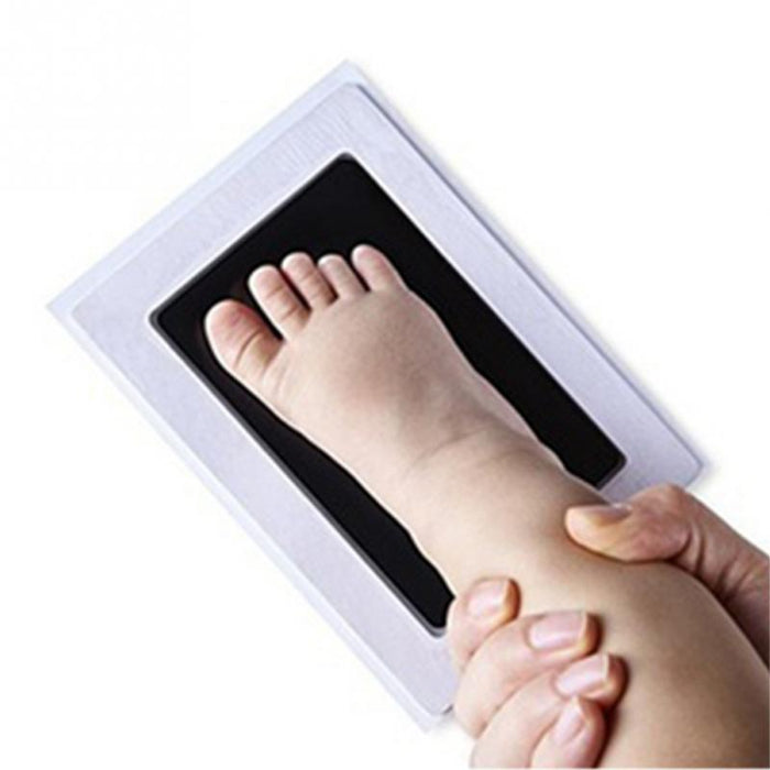 Baby Handprint Footprint Photo Frame Kit With Clean-Touch Ink Pad