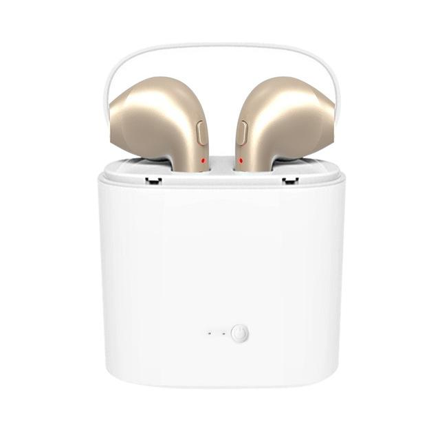TWS V4.2 BLUETOOTH WIRELESS EARPHONES FOR IPHONE & ANDROID