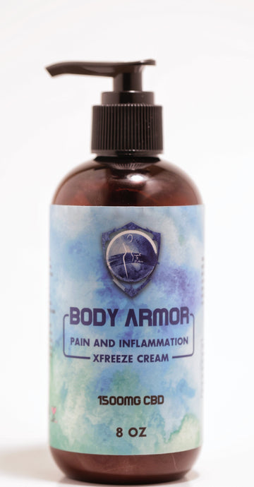 1500mg Body Armor Pain and Inflammation Xfreeze Cream - Better Wellness Supplements