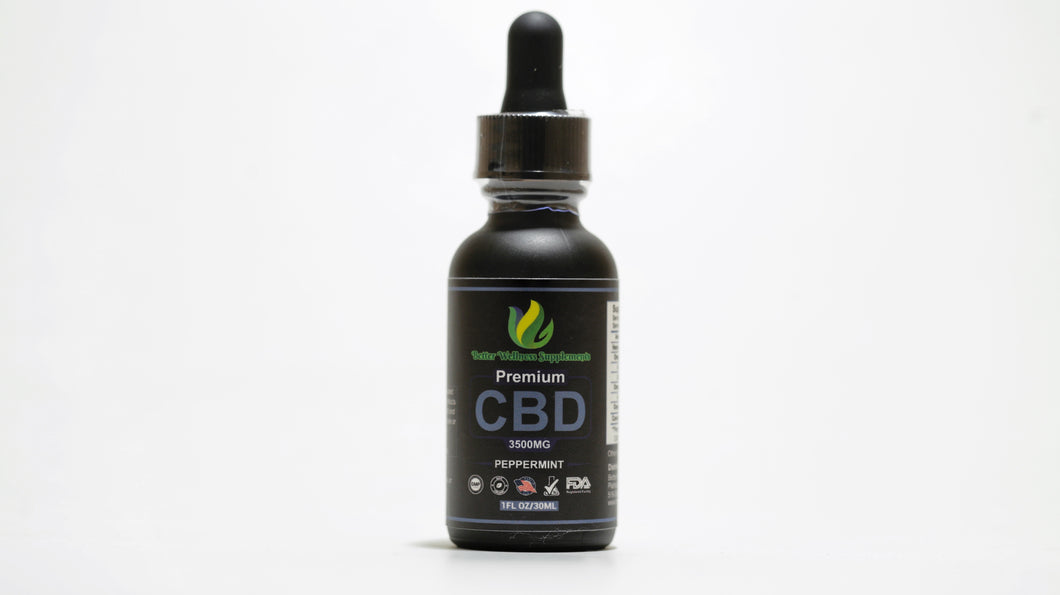 3500mg Tincture Isolate - Better Wellness Supplements