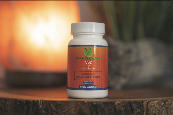 Pain & Inflammation (600mg CBD) - Better Wellness Supplements