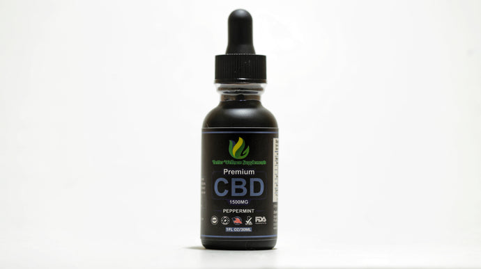 1500mg Tincture Isolate - Better Wellness Supplements