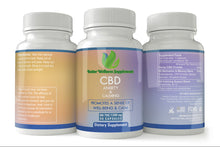 Load image into Gallery viewer, Anxiety & Calmness CBD Capsules (1200mg) - Better Wellness Supplements