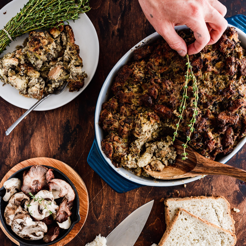 Mushroom and Thyme Stuffing
