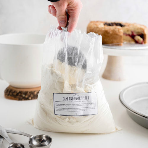Gluten-Free Dairy-Free Vegan Nut-Free Cake and Pastry Flour Mix