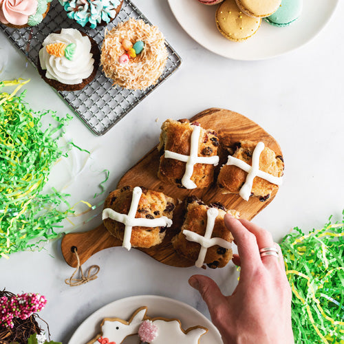 Gluten-Free Nut-Free Hot Cross Buns