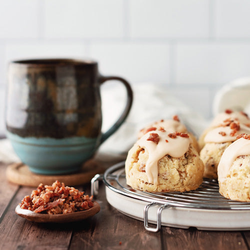 Gluten-Free Soy-Free Nut-Free Maple Bacon Scone