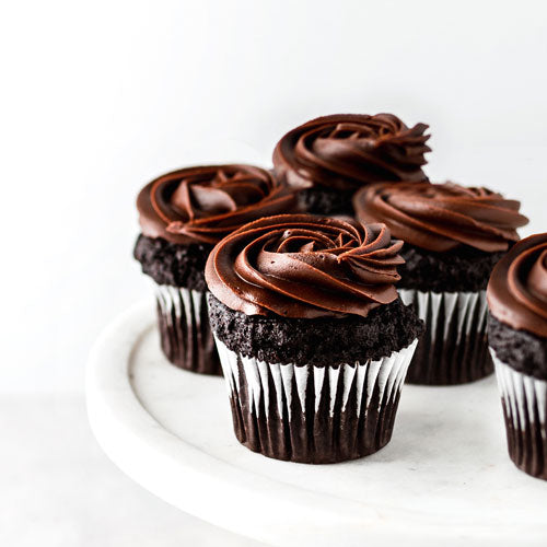 Gluten-Free Nut-Free Vegan Double Chocolate Cupcake