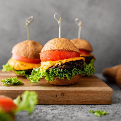 Gluten-Free Nut-Free Dairy-Free Meatless Burger Recipe