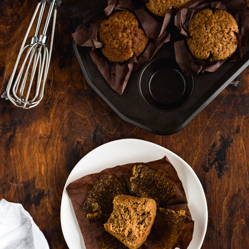 Gluten-Free Dairy-Free Apple Carrot Muffins