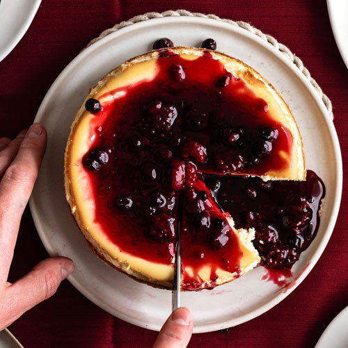 Wild berry Gluten-Free Cheesecake