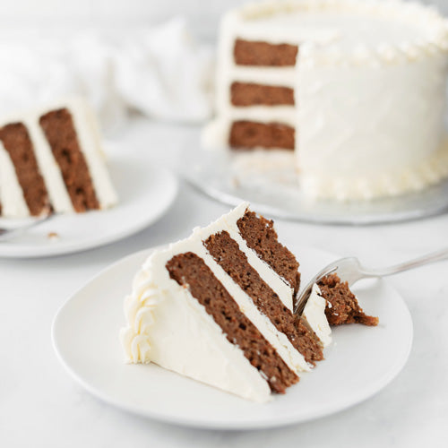 Gluten-Free Nut-Free Soy-Free Carrot Cake with Cream Cheese Icing