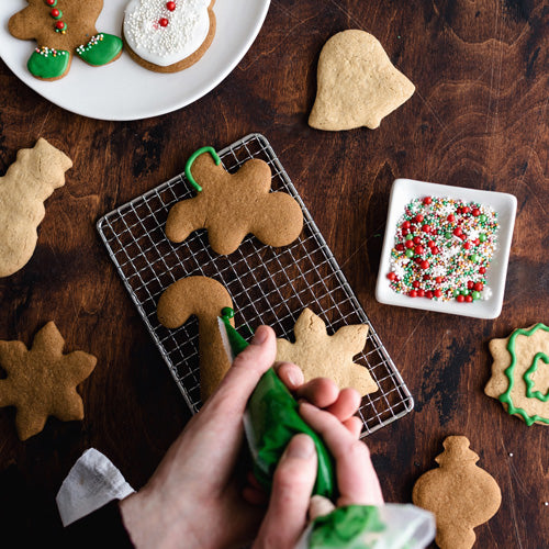 Vegan Nut Free Gluten-Free Christmas Cookie Shapes