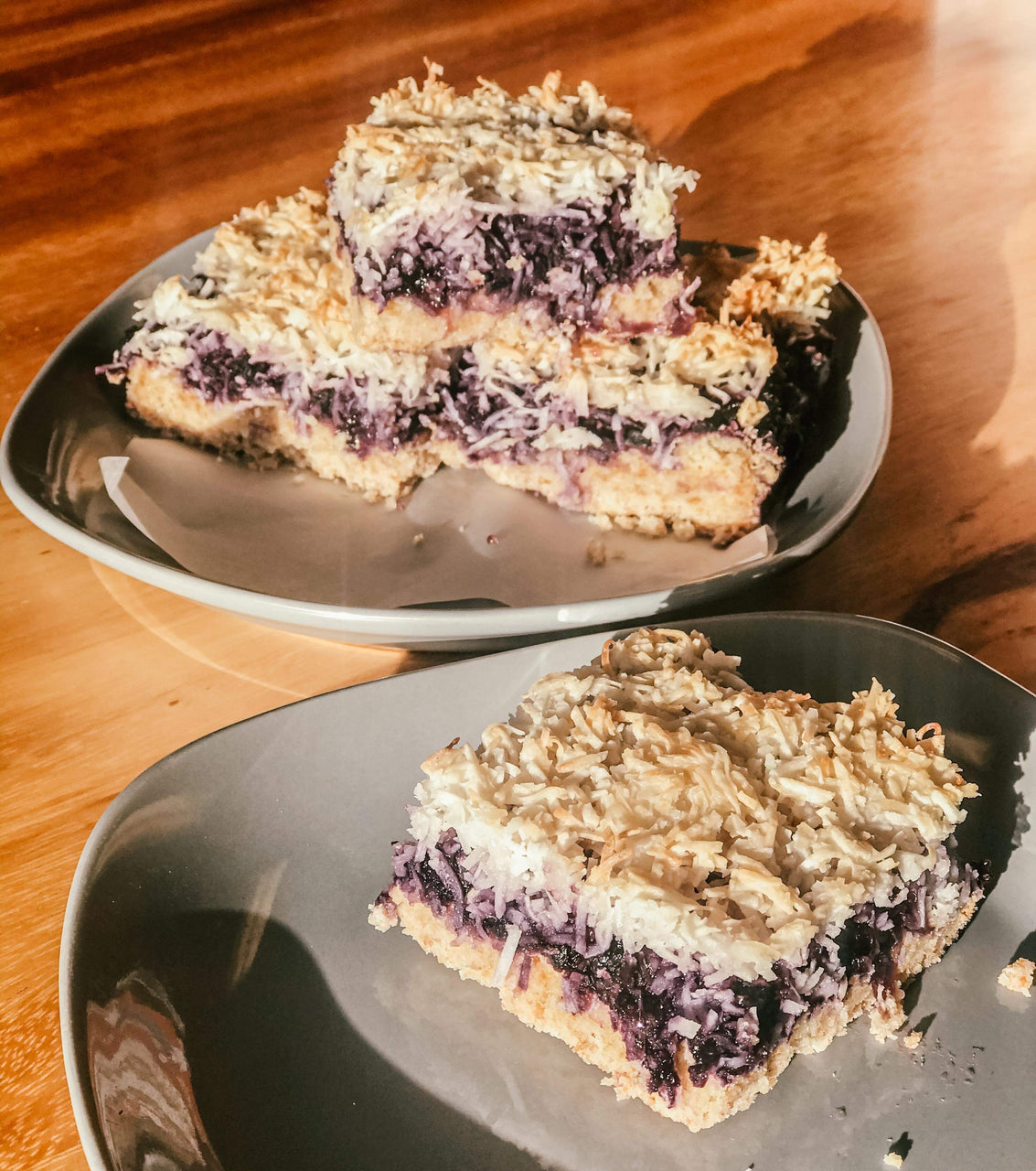 Vegan BLUEBERRY Coconut Bar