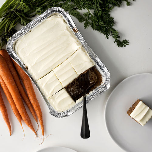 Gluten-Free Classic Carrot Cake with Real Cream Cheese Icing
