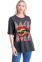 Load image into Gallery viewer, Rock and Roll Lips Tee