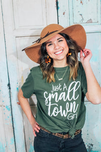 Women's just a small town girl graphic tee