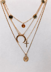 Hallelujah High Layered Necklace