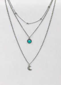 Moon Over Mexico Layered Necklace