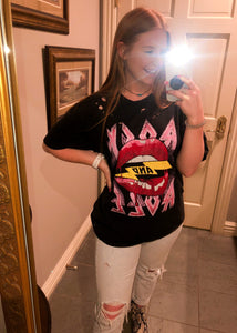 Rock and Roll Lips Tee