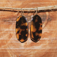 Load image into Gallery viewer, women's cheetah print earrings