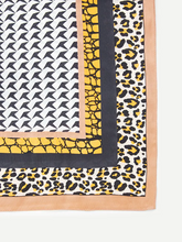 Load image into Gallery viewer, Fierce Leopard Satin Bandanna