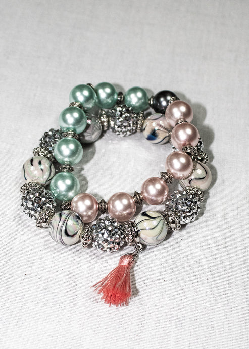 Women's boutique bracelet set