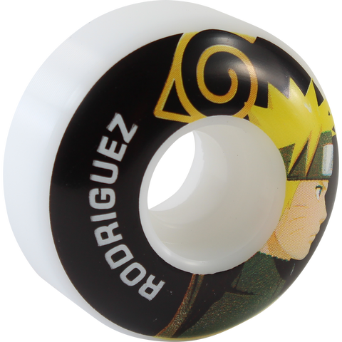 PRIMITIVE RODRIGUEZ NARUTO 53mm WHITE skateboard wheels