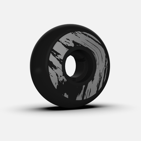 Dead Wheels black/silver 58mm/95a inline skate wheels