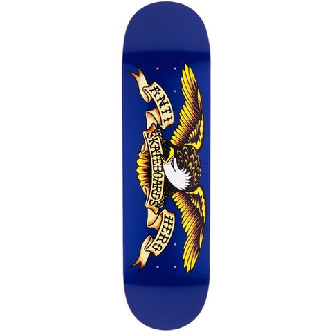 Anti Hero Eagle Deck 8.5 Navy