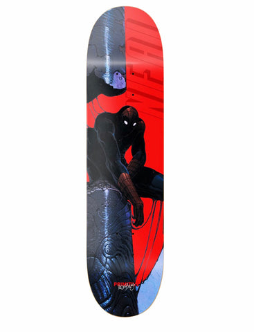 Primitive Neal Spiderman Skateboard deck 8.62