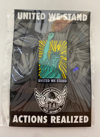 Real United We Stand Lapel Pin
