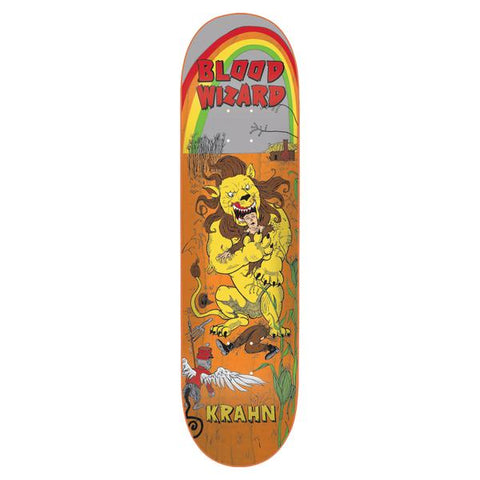 Blood Wizard Skateboards team wizard of blood scarecrow 8.75 deck