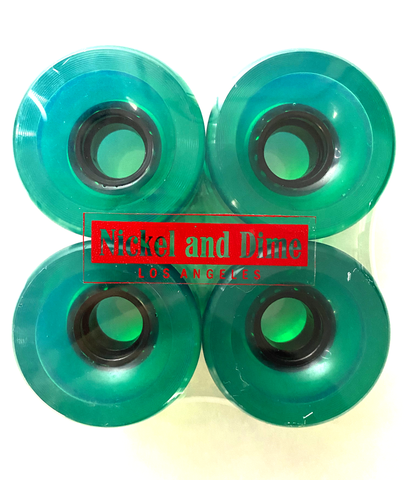 Nickel and Dime LA long board wheels 64mm 46a