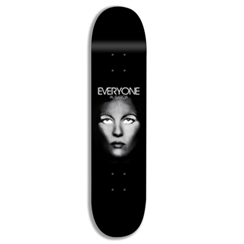 EVERYONE SKATEBOARDS CO AL GARCIA Signature DECK