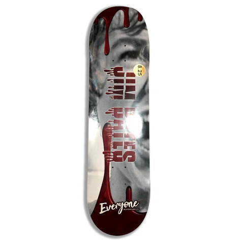 EVERYONE SKATEBOARDS CO JIM BATES SIGNATURE DECK
