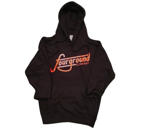 FOURGROUND CO : ORANGE LOGO SWEATER