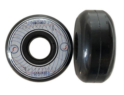 Ground Control 57mm 90a inline skate wheels