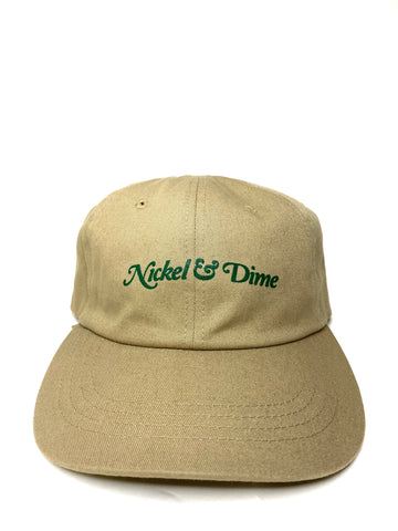 NICKEL AND DIME TAN DAD HAT