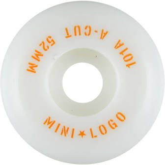 52mm Mini Logo Wheels