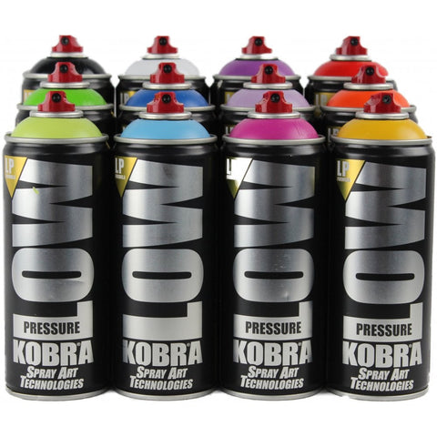 KOBRA PAINT: LP FORMULA SPRAY PAINT  400ml