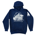 FOURGROUND CO. LOS ANGELES HIP HOP CITY SCAPE HOODIE