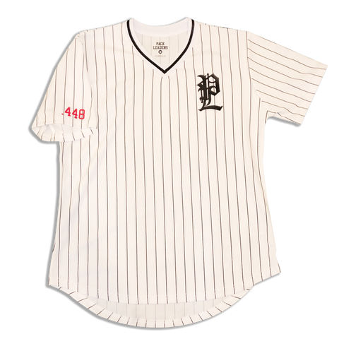 PACK LEADERS CLOTHING CO : LIMITED EDITON PACKLEADERS  BASEBALL JERSEY