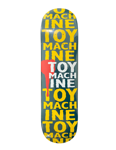 TOY MACHINE TEAM NEW BLOOD  PP DECK 8.25