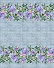 Load image into Gallery viewer, DECEMBER RETAIL - GIANT Succulent BORDER print- Available in Cotton Lycra and Bamboo Lycra