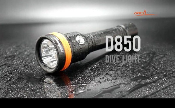 OrcaTorch D850 Dive Light